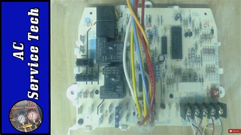 troubleshooting  furnace control board ifc  test