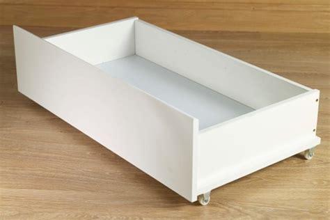 White Underbed Drawers by White Underbed Drawers Pair Of Underbed Drawers White