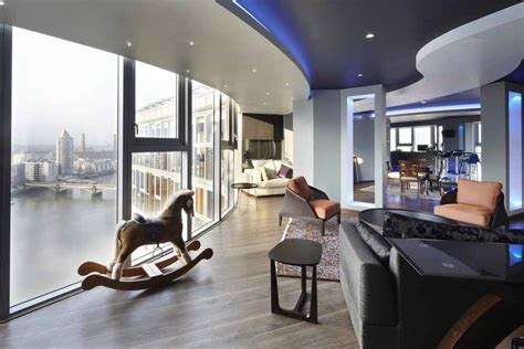 thames riverside luxury penthouse apartment decor advisor falcon wharf river thames penthouse property e architect