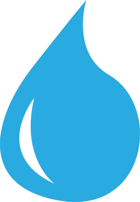 Water Drop Clipart water droplet clip at clker vector clip