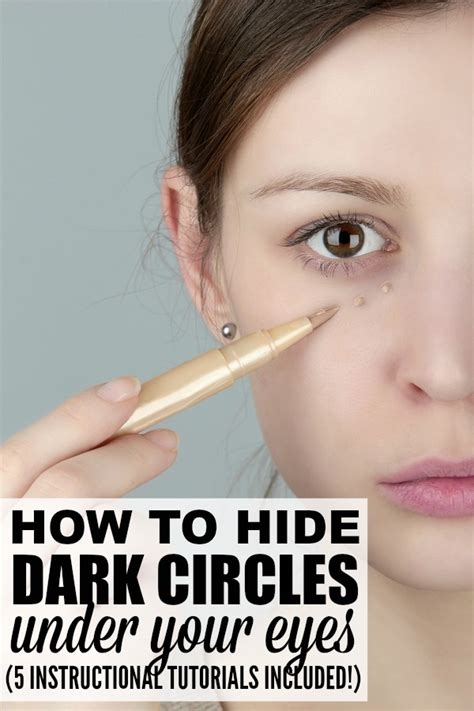 eyeliner tutorial under 5 tutorials to teach you how to cover dark circles properly
