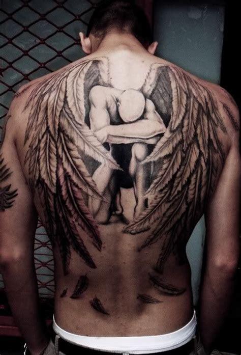 tattoo di kulit punggung cara desain 25 tattoo sayap paling keren untuk inspirasi