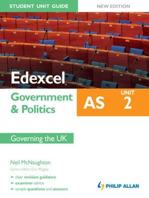 edexcel uk government and edexcel as government politics student unit guide by neil mcnaughton 183 overdrive rakuten