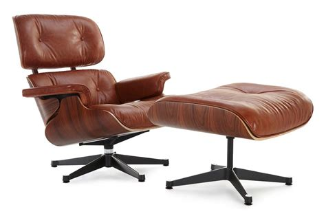 vintage eames lounge chair and ottoman eames lounge chair replica antique brown manhattan home