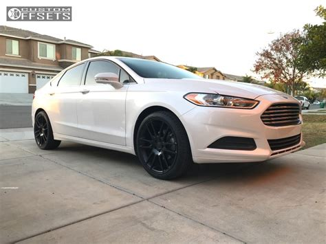 Ford Fusion 2014 by 2014 Ford Fusion Kmc Km696 Stock Stock