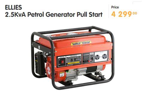 Load Shedding Generator by 7 Affordable Ways To Fight Eskom S Load Shedding