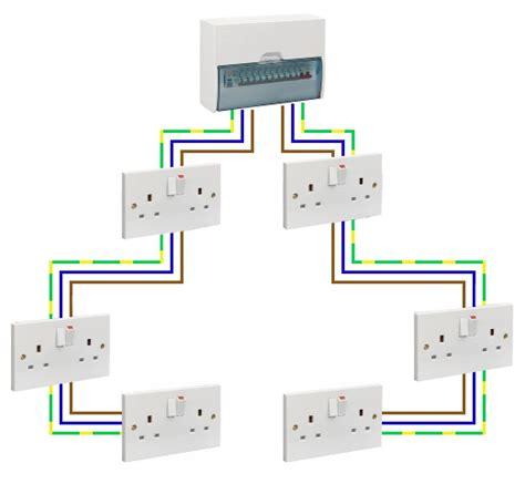 wiring diagram garage consumer unit wiring diagram