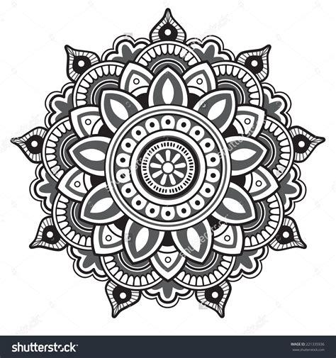 Pattern Mandala Vector | stock vector mandala round pattern 221335936 jpg 1500