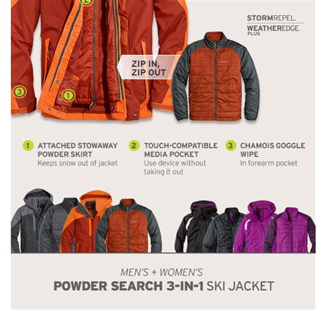Eddie Bauer Gift Card Balance - eddie bauer new myclimate system the ultimate 3 in 1 jacket milled