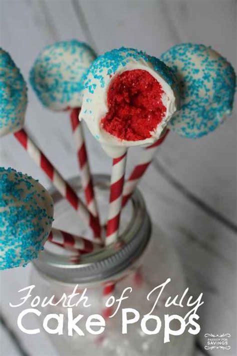 cake pops recipe fourth of july cake pops recipe white blue