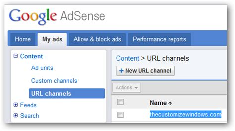 how to create an adsense url channel to track ads performance adsense url channels get maximum revenue from wordpress blog