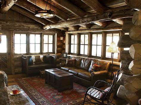 cabin style home country style living rooms rustic style living room