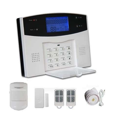 wireless digital home security alarm system for house