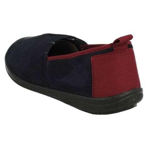 memory foam house slippers mens padders memory foam house slippers blake ebay