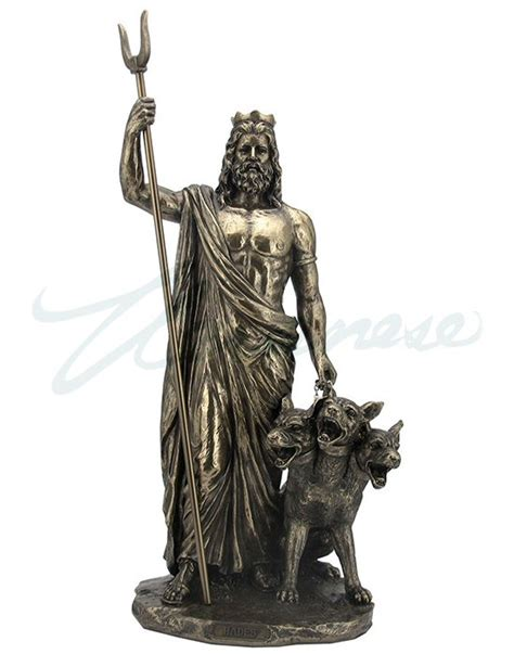 greek god statues bronze hades greek god of the underworld sculpture