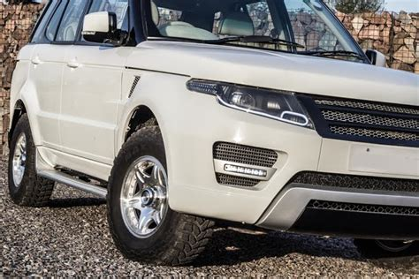 land rover safari 2018 tata safari modified into a range rover evoque