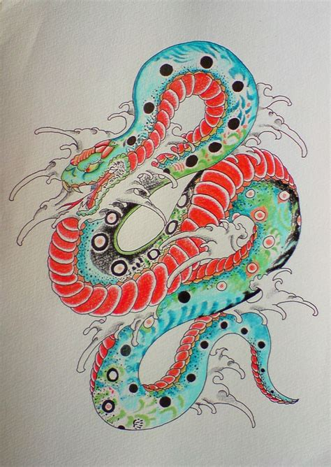 oriental snake tattoo designs 37 best snake skull deck images on japanese