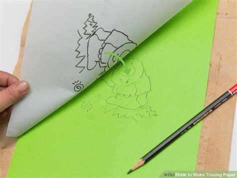 How To Make Tracing Paper - how to make tracing paper 9 steps with pictures wikihow