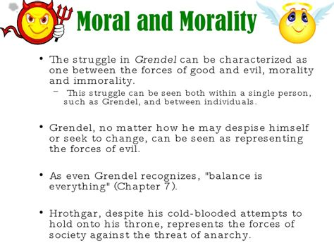 beowulf themes and exles themes of grendel