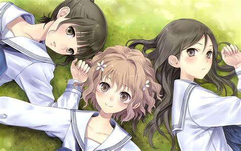 Anime 3 Friends by 3 Anime Friends Www Imgkid The Image Kid Has It