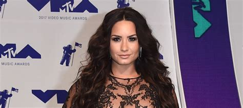 Which Demi Flawless Look Is Most Fab by Demi Lovato S Sheer Mtv Vmas 2017 Look Is 2017