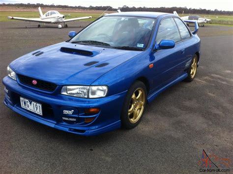 Subaru Stock Price by 1999 Subaru Wrx Sti Coupe Stock Original Reserve Is