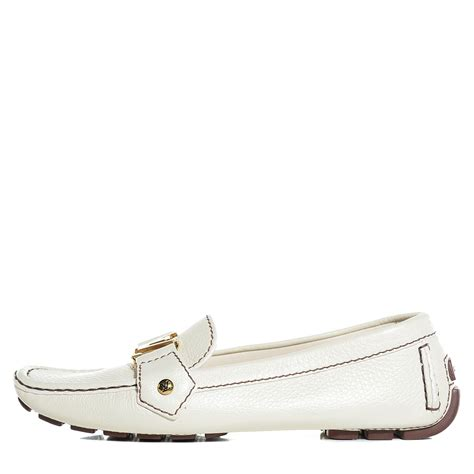 louis vuitton white loafers louis vuitton grained calfskin oxford loafers 36 5 6 5