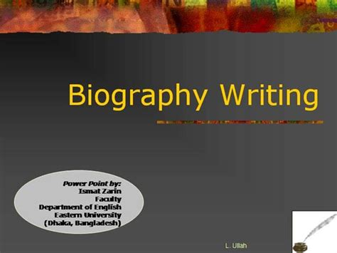 powerpoint biography toreto co