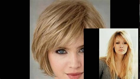 hairstyles with side bangs youtube layered hairstyles with bangs for round faces layered