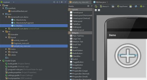 android custom view time to migrate android projects to android studio codeproject