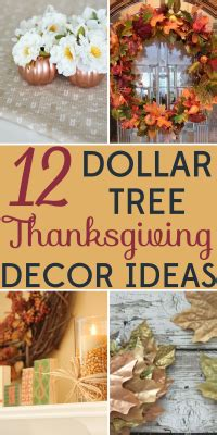 dollar tree home decor ideas decorating on a budget 12 dollar tree thanksgiving decor