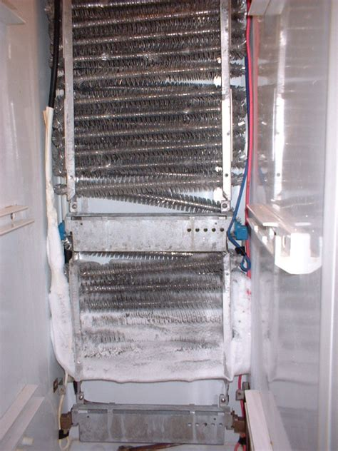 kenmore side by side refrigerator evaporator fan not working refrigerator not cold enough appliance aid