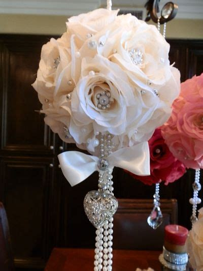 Blin Home Decorating Ideas   Bling Wedding Centerpieces on