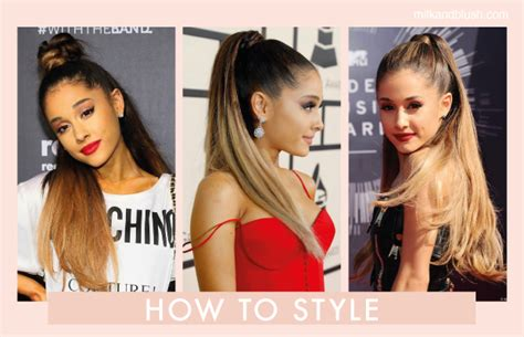 how to do the grande hairstyle how to get hair like ariana grande hair extensions blog