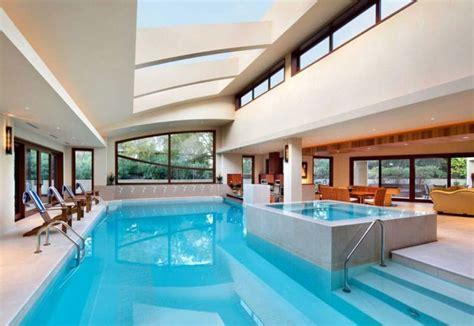Swimming Pool House Plans by Piscines Int 233 Rieures D 233 Couvrez Les Plus Belles Du Monde