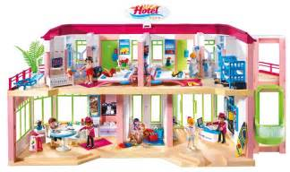 playmobil summer large furnished hotel 5265