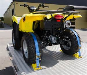 Trailer Tire Tie Straps Atv Wheel Chock And Tie Kit 171 Erickson