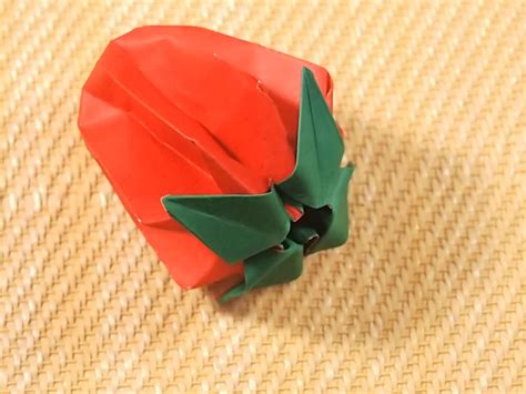 Origami Wiki How - how to fold strawberry origami with pictures wikihow