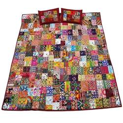 Patchwork Quilt For Sale - patchwork bedspread ebay