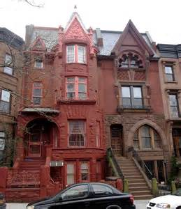 Gothic Revival Homes rowhouse styles of new york city right path windows