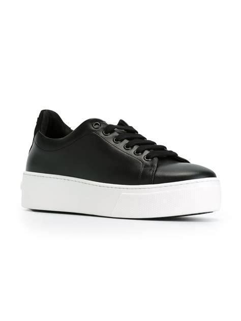 platform black sneakers kenzo platform sneakers in black lyst