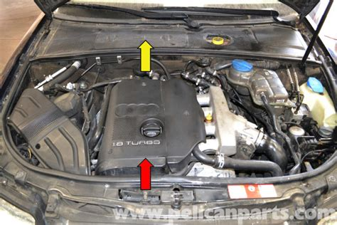 small engine maintenance and repair 1999 audi a4 electronic throttle control audi a4 b6 engine cover removal 1 8t 2002 2008 pelican