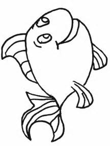 Outline Of A To Color by Simple Fish Outline Az Coloring Pages