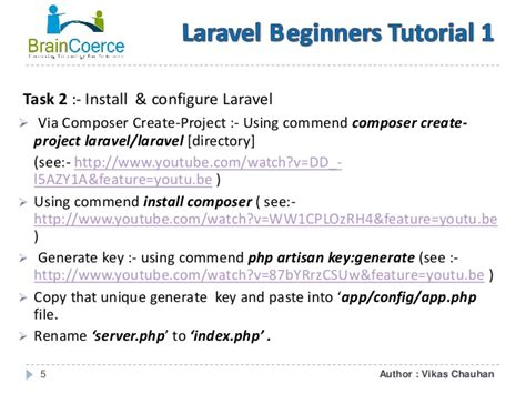laravel 5 layout tutorial laravel beginners tutorial 1