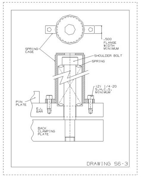 hydraulic design criteria us army injection mold ejector system design standards