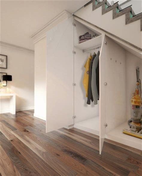 Stair Closet Storage by Best 25 Stair Storage Ideas On