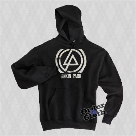 Jaket Sweater Hoodie Jumper Hitam Linkin Park linkin park logo hoodie