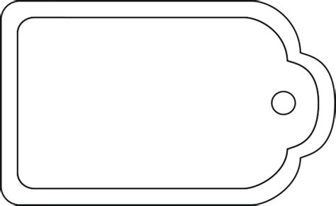 blank suitcase template blank luggage tags clipart best