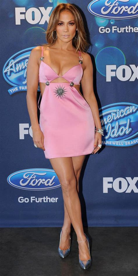 jennifer lopez looks different on idol jennifer lopez s head to toe looks from seasons 14 and 15