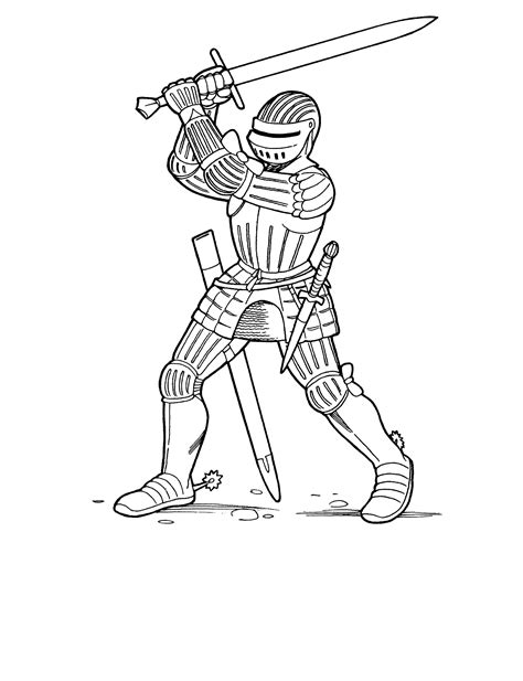 Coloring Pages Knights And Dragons | coloring pages knights and dragons coloring home